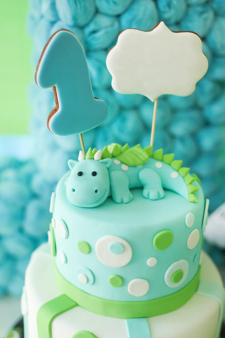 Торт детский Динозаврик