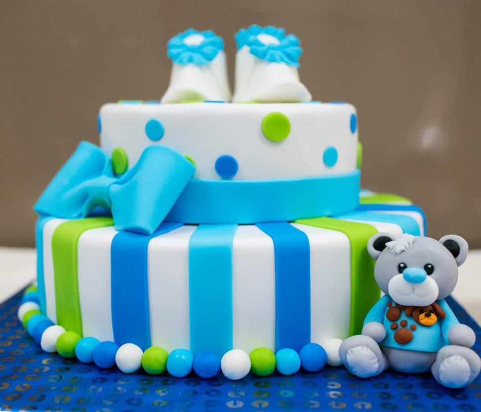 Детский торт 2х-ярусный