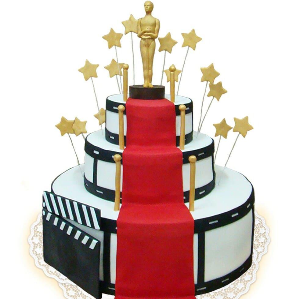 Торт в честь награды