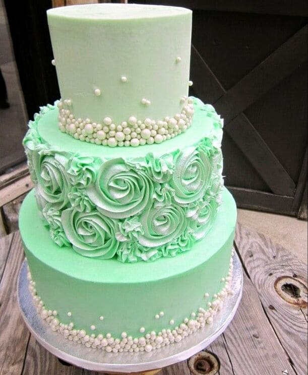 Торт 3х-ярусный