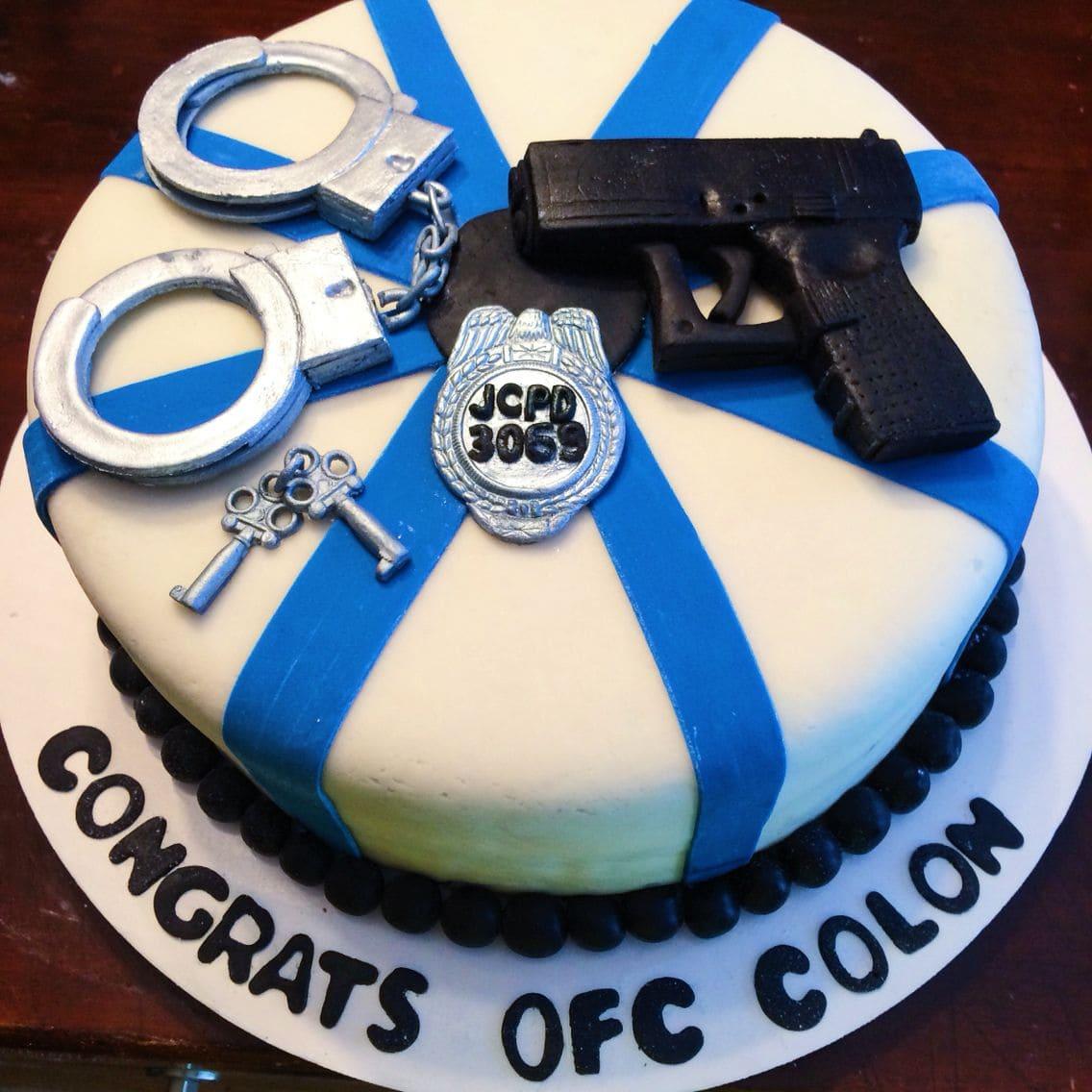 Торт на день полиции