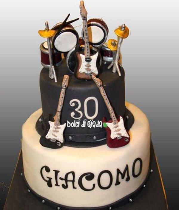 Торт для музыкантов
