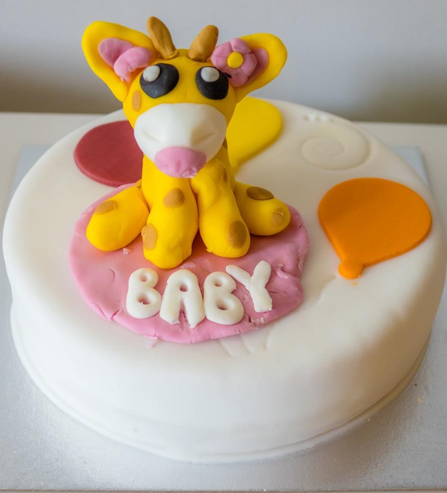 Торт детский Жирафик