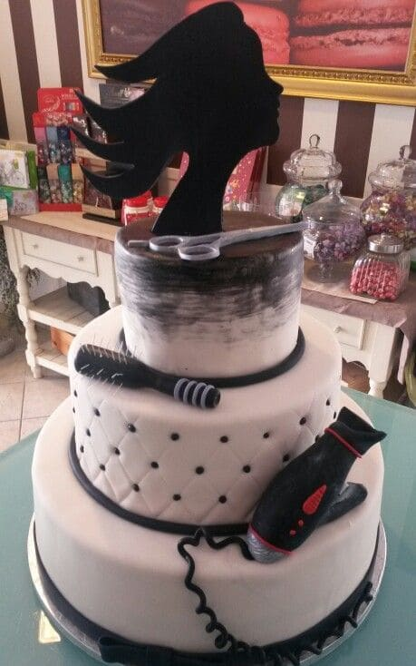 Торт парикмахеру