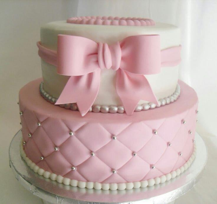 Торт 2х-ярусный