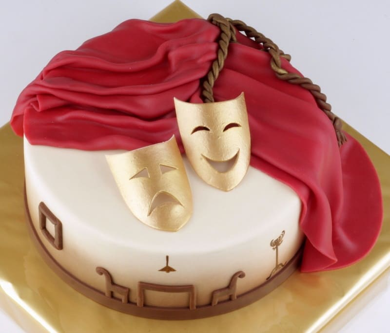 Торт актерам