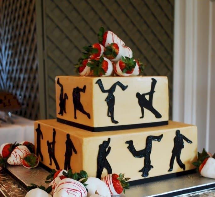 Торт танцорам