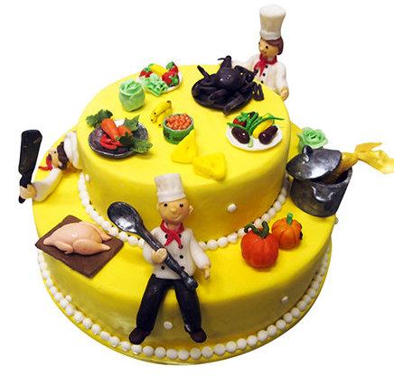 Торт поварам кулинарам