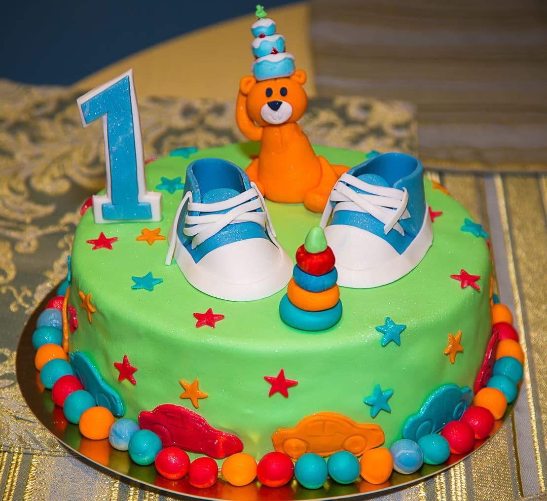 Детский торт Звездная поляна