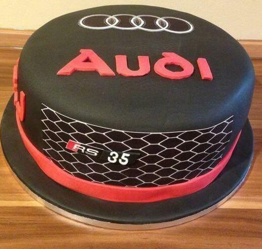 Торт ауди