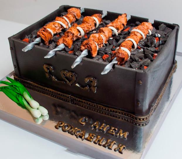 Торт шашлык
