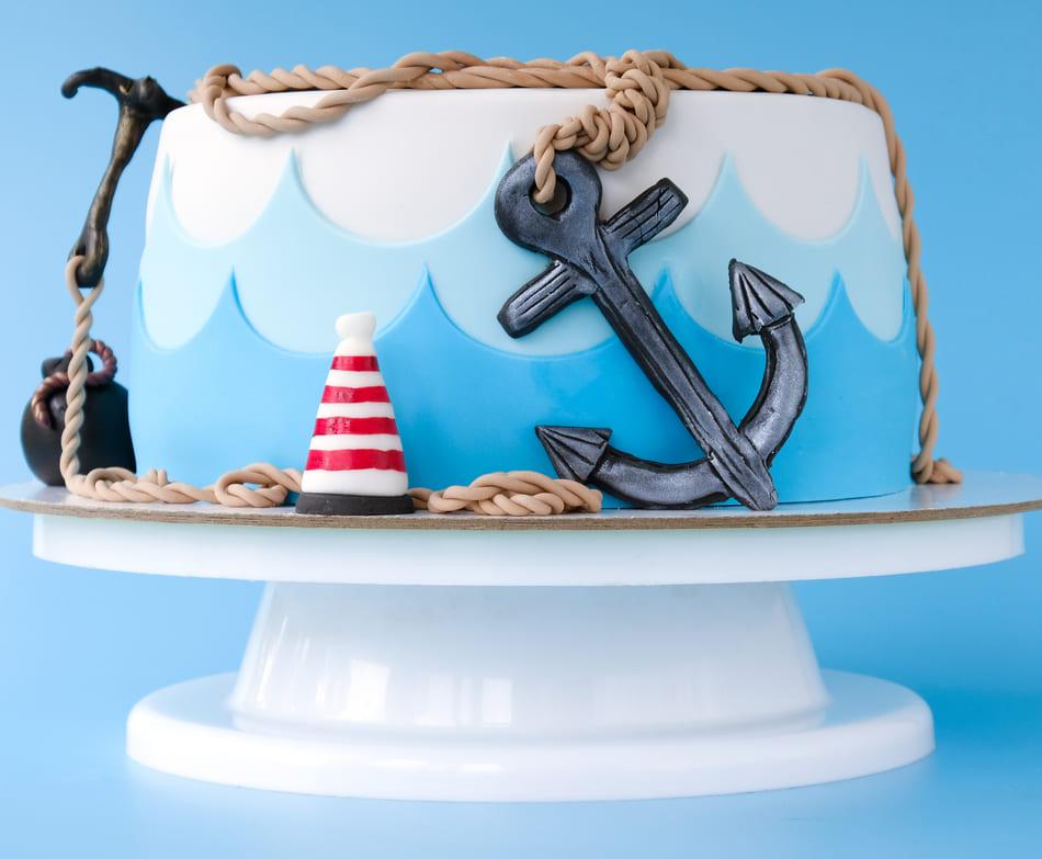 Детский торт мальчику