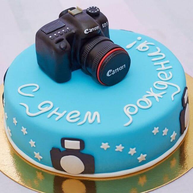 Торт фотографу